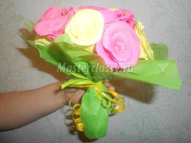 подарок для мамы на 8 Марта. Букет роз