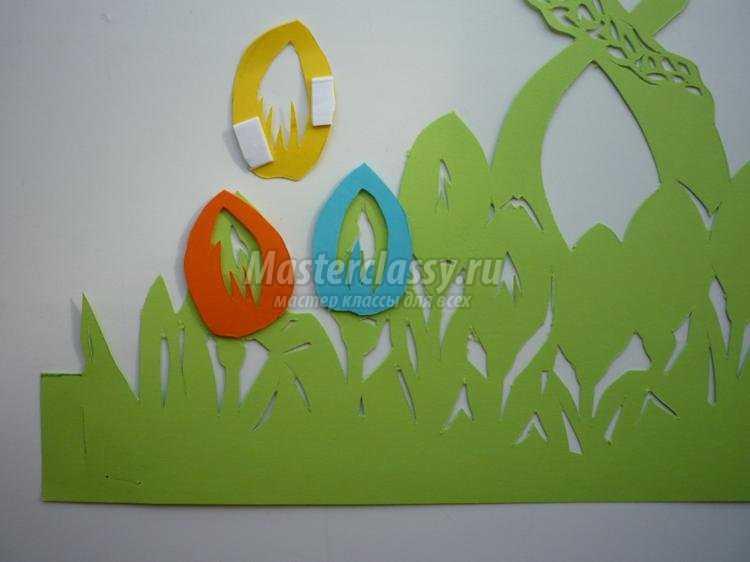 открытка к 8 Марта в технике киригами