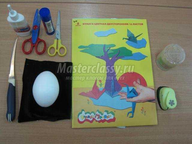 декорирование пасхальных яиц в технике квиллинг