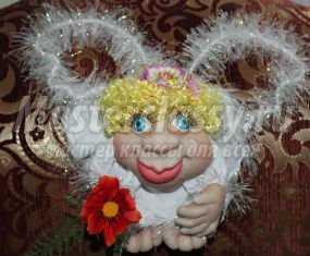Капроновые куклы попики своими руками фото 345