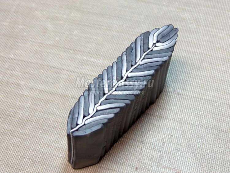 Украшения из полимерной глины Миллефиори