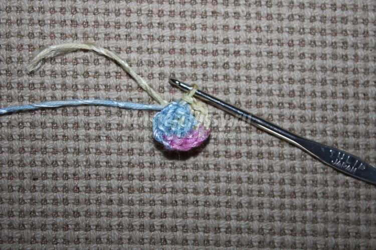 Вязание на Пасху. Корзинка для яиц