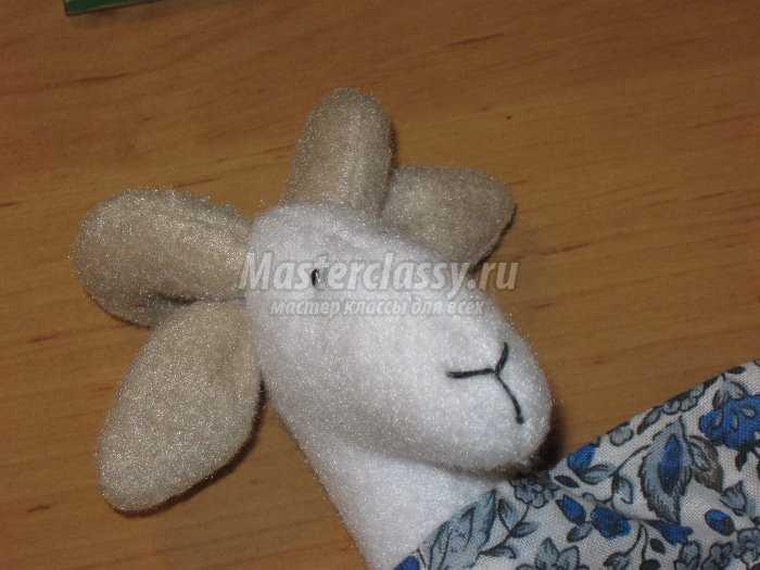 Игрушка коза своими руками