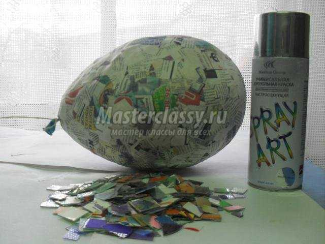 волшебный шар из дисков своими руками