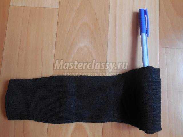 подарок для настоящих мужчин. Танк из носков