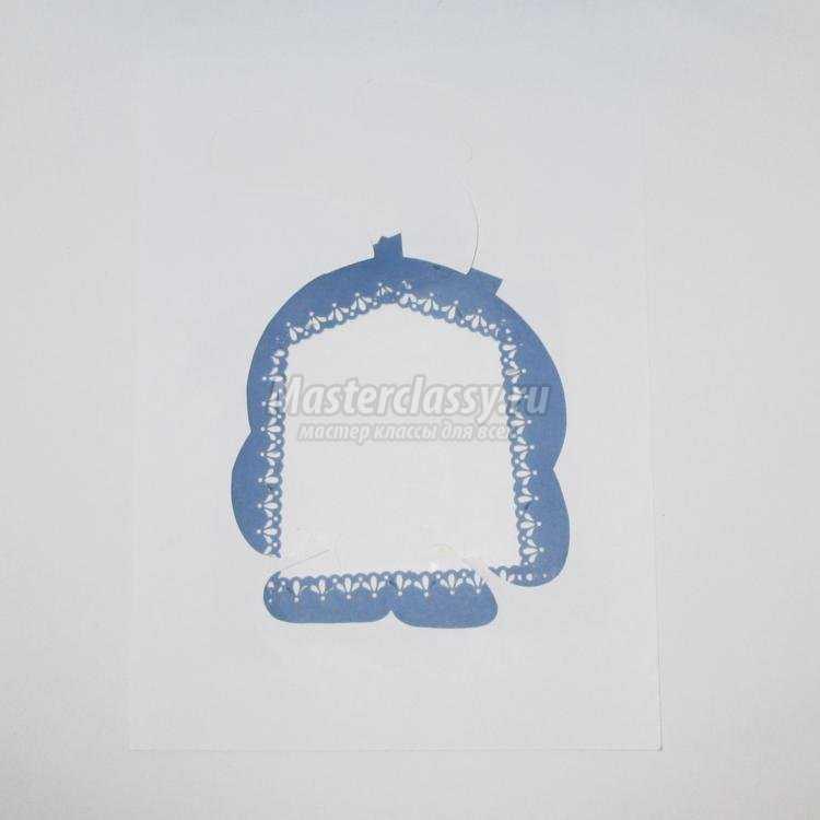 крош из бумаги в технике айрис-фолдинг