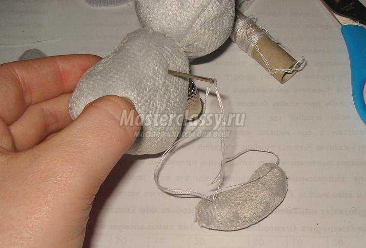 мягкие игрушки своими руками. Плюшевая зайка