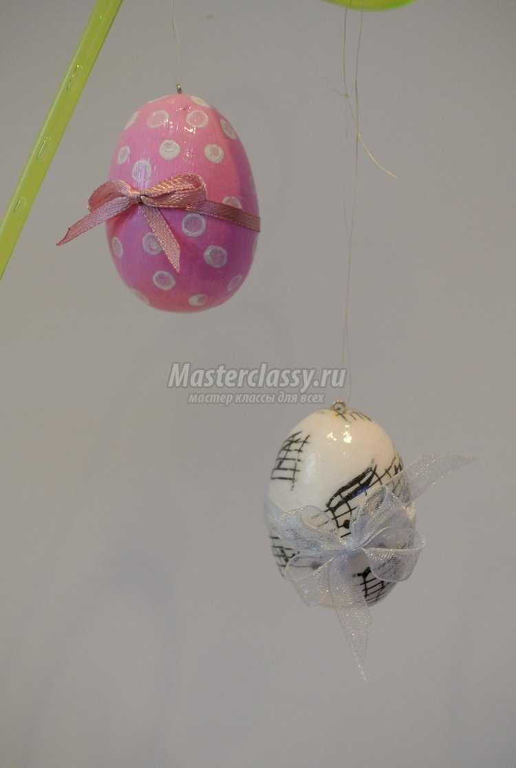 роспись яйц на пасху