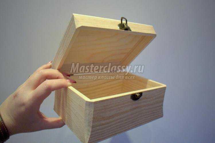 Декупаж деревянный шкатулки видео мастер класс