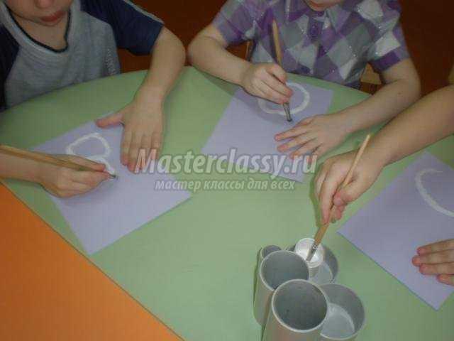 Конспект по по рисованию в младшей группе