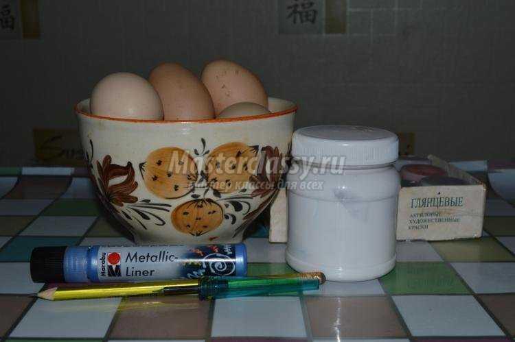 роспись пасхальных яиц. Крапанка