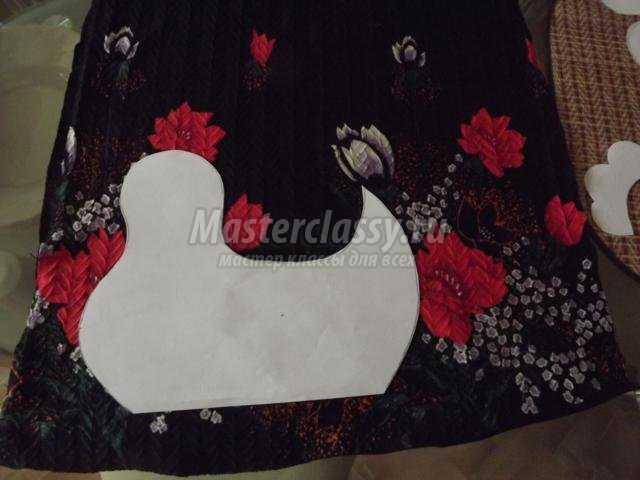 пасхальная курочка-корзинка из ткани