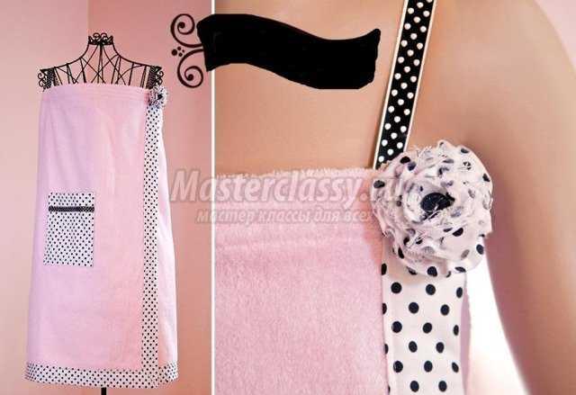 Банный сарафан-полотенце