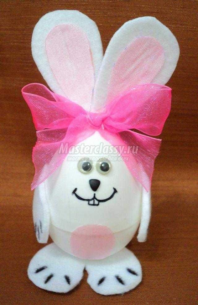 Как сделать кролика из яйца фото 368