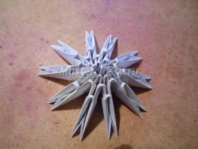 модульное оригами. Пасхальное яйцо с подставкой