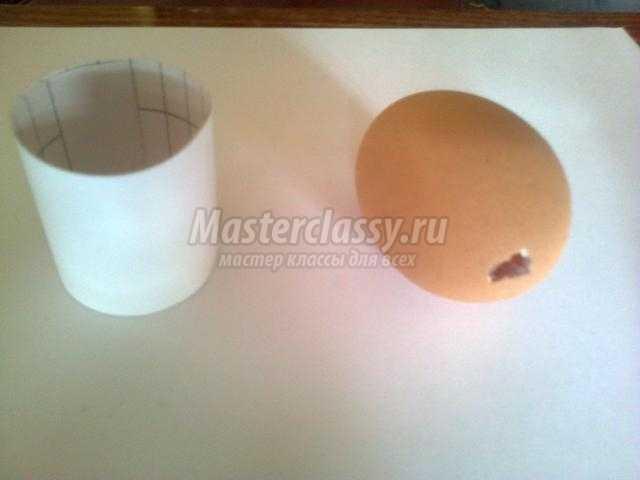 декор пасхального яйца тканью, бисером и пайетками