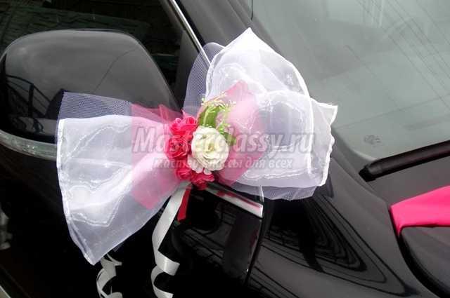 Как сделать украшение на свадебную машину своими руками (фото) 70