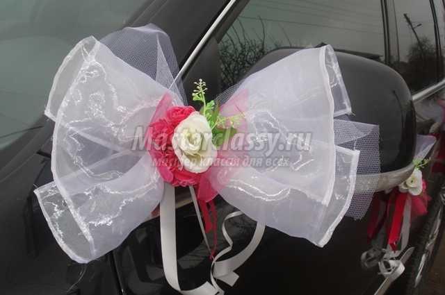 Как сделать украшение на свадебную машину своими руками (фото) 89