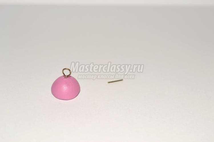 нежный браслет из полимерной глины