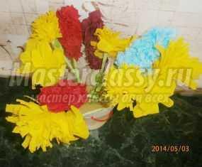 цветы торцевание