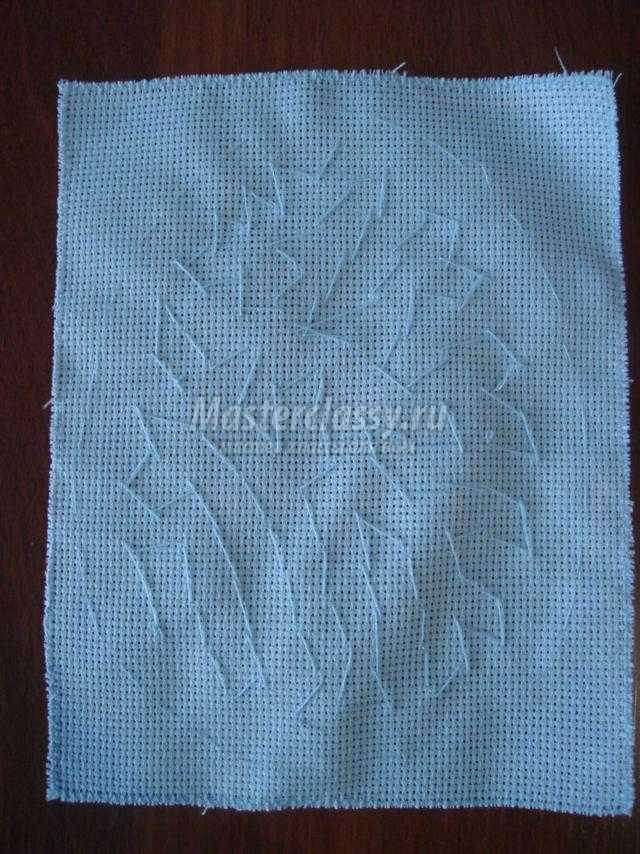 вышитые бисером пасхальные подушечки