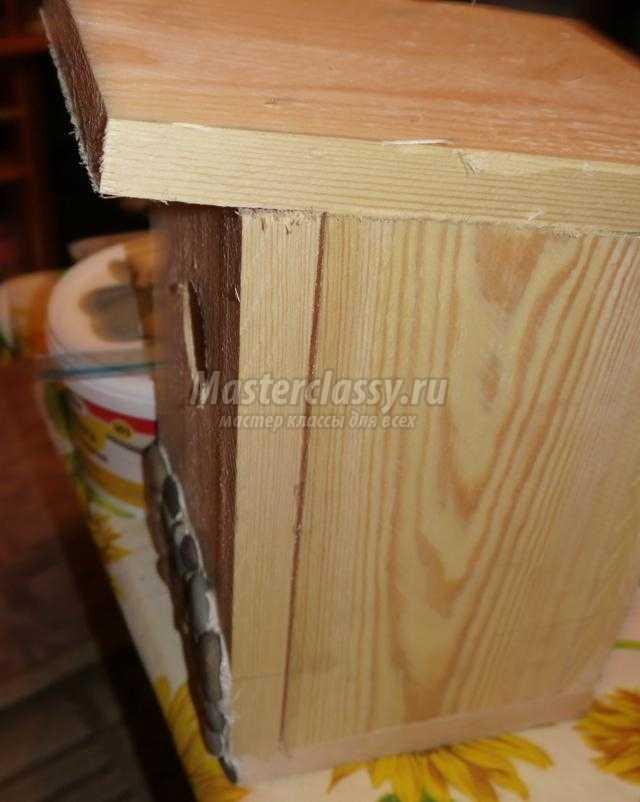 деревянный скворечник своими руками