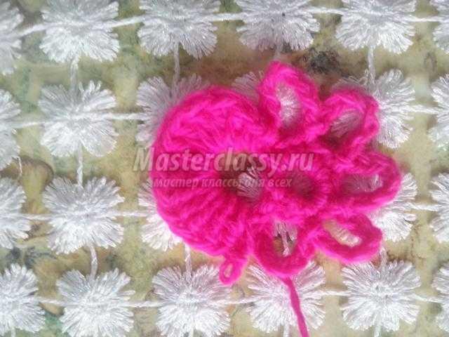 вязание крючком элементы костюма. Веснянка