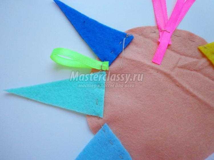 детская развивающая игрушка из фетра