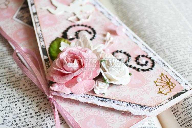 скрапбукинг. Свадебный конверт для денег