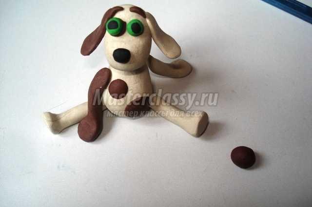 Пластилиновая собака