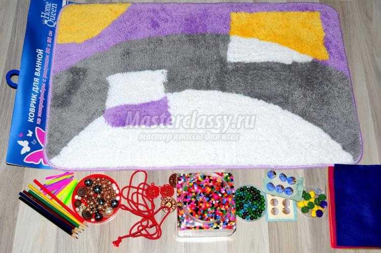 Массажные коврики своими руками для детей 72