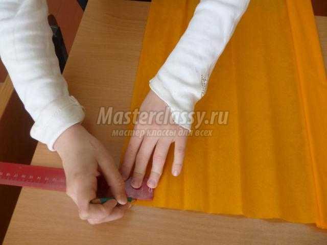 пасхальный кулич в технике торцевание
