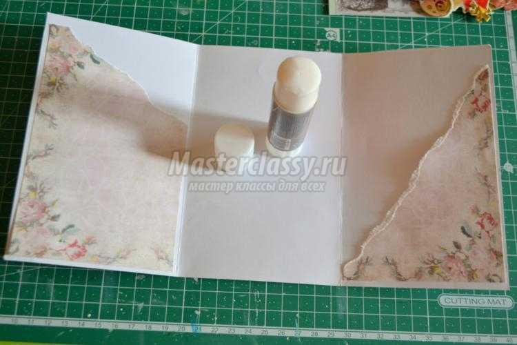 Заготовка для открытки внутренняя часть