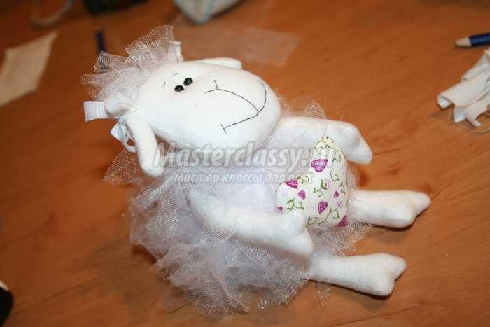 Как сшить овечку?