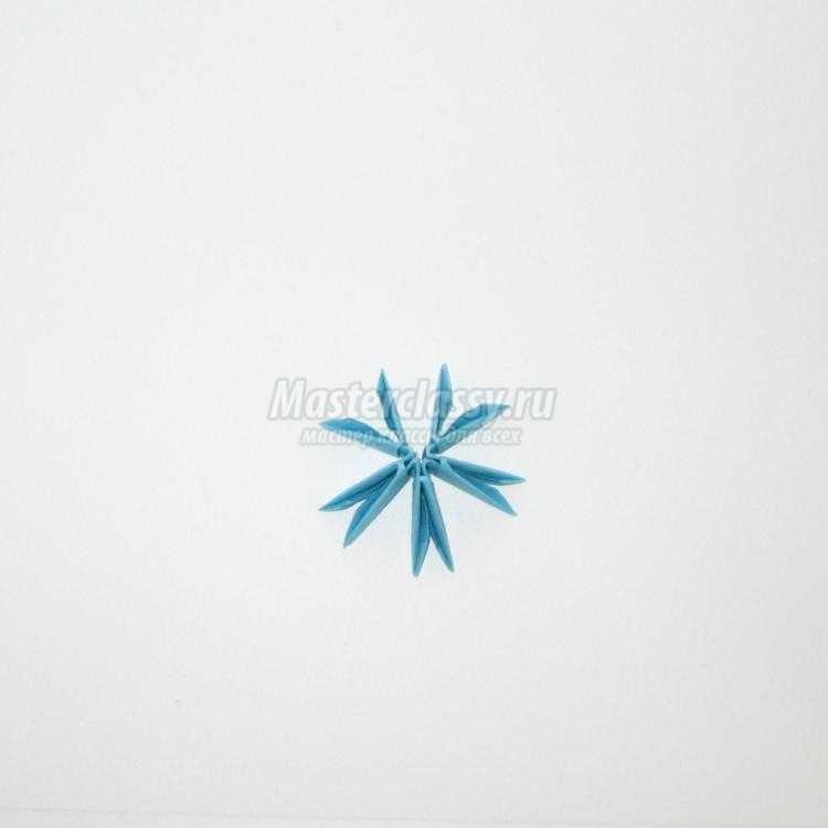 модульное оригами. Крош. Мастер-класс