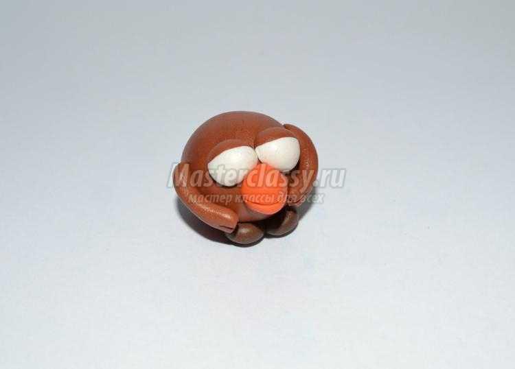 Смешарики из полимерной глины. Карыч и Лосяша