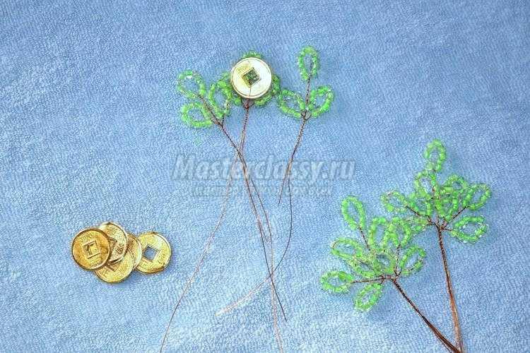 1401879516_6 Денежное дерево Деревья из бисера, бонсай – Бисерок