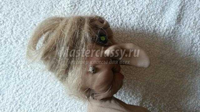 Кукла баба яга своими руками из колготок