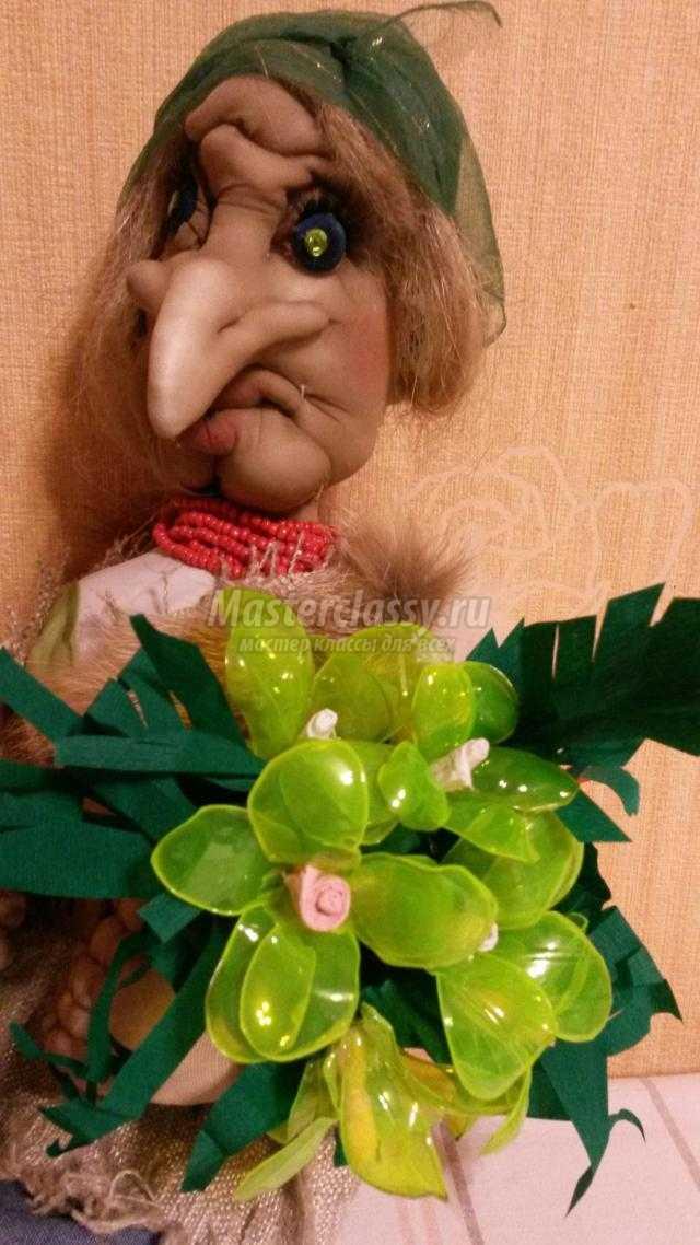 скульптурные куклы своими руками. Баба Яга