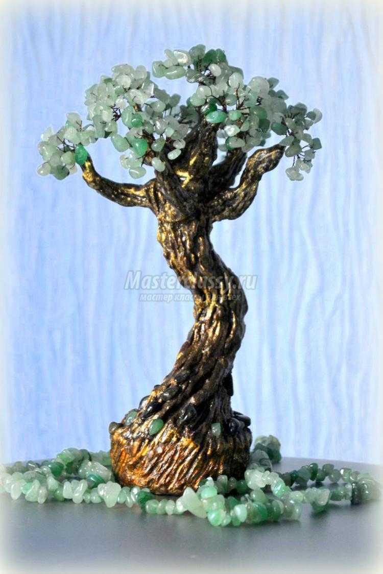 Как сделать дерево из камней фото 530