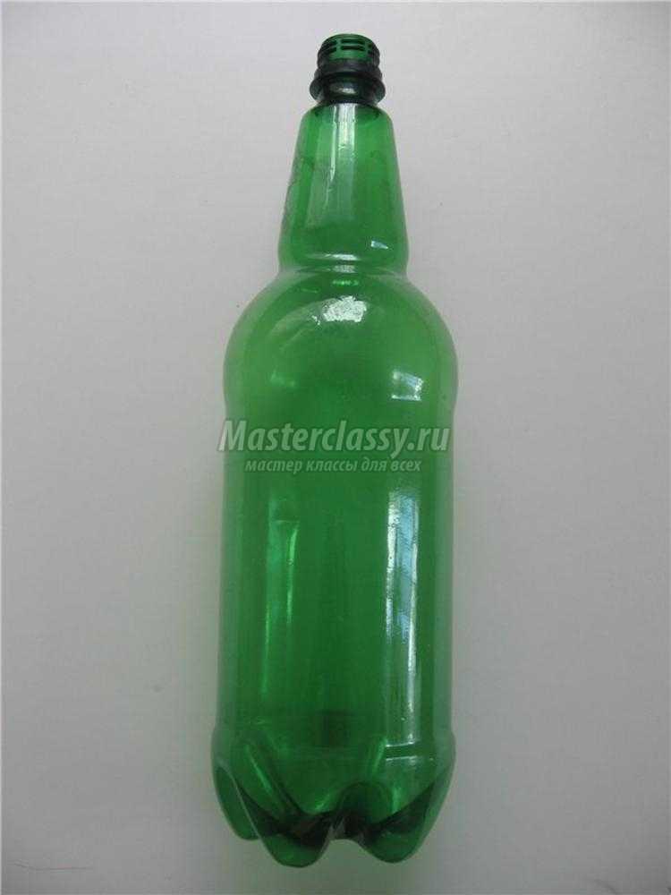 ампельный цветок из пластиковых бутылок