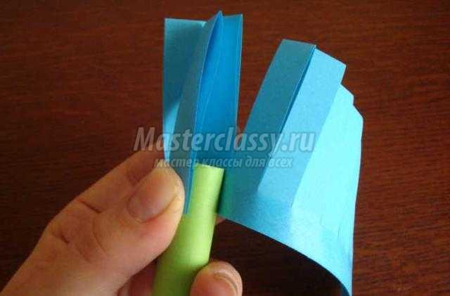 Паровоз из бумаги 4 класс