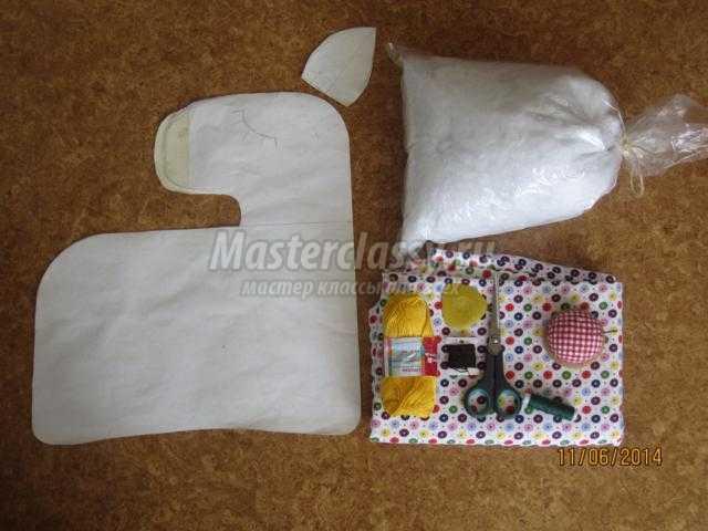 подушка-игрушка своими руками. Спящая лошадка