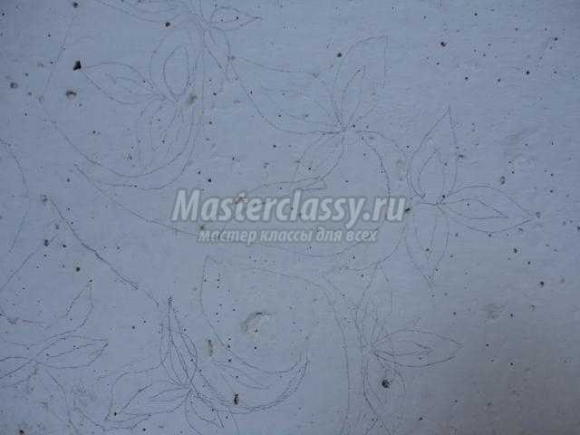 рисование на стенах . Сакура с бабочками