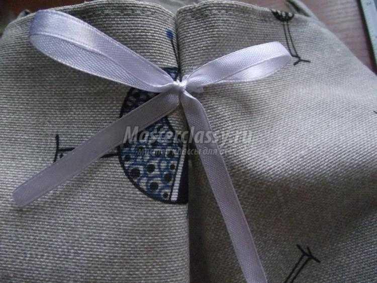 пляжная сумка с косметичкой своими руками