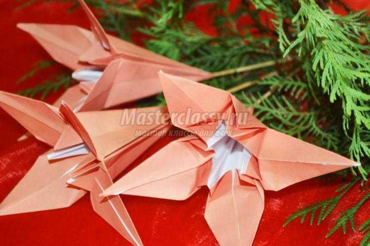 Лилии из бумаги своими руками пошаговое