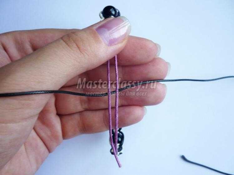 Шнур вощеный для браслета шамбала