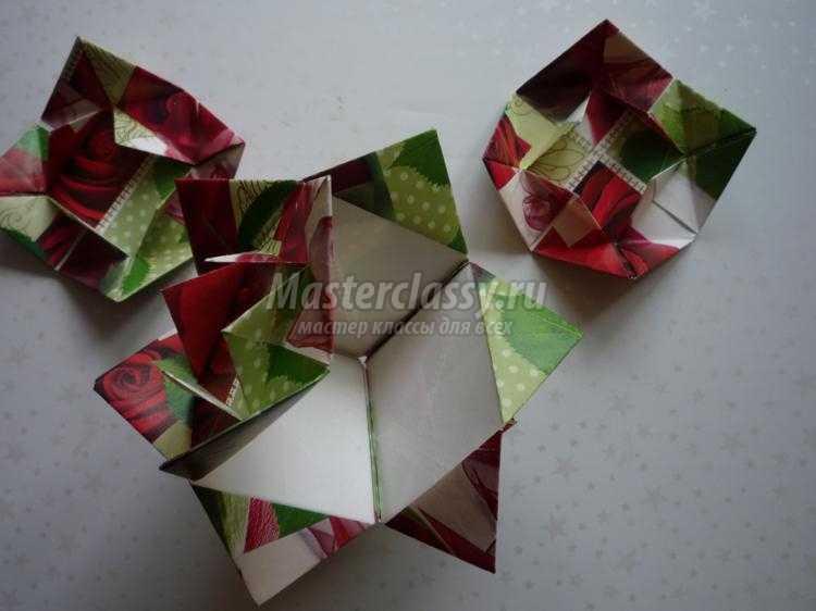 модульное оригами. Летняя кусудама Лиминус