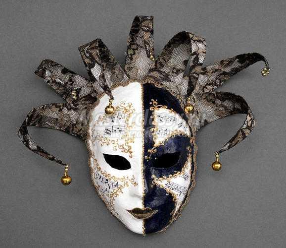 Как сделать маску на пол лица фото 534