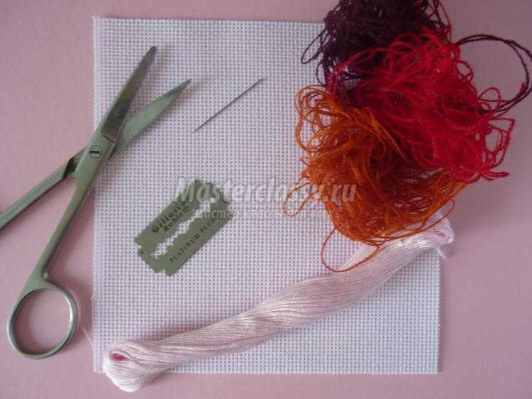 Мастер класс по вышивке салфетки